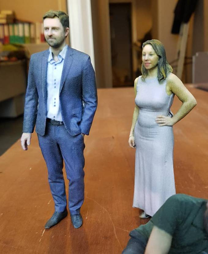 Figurines Couple duo 15 cm