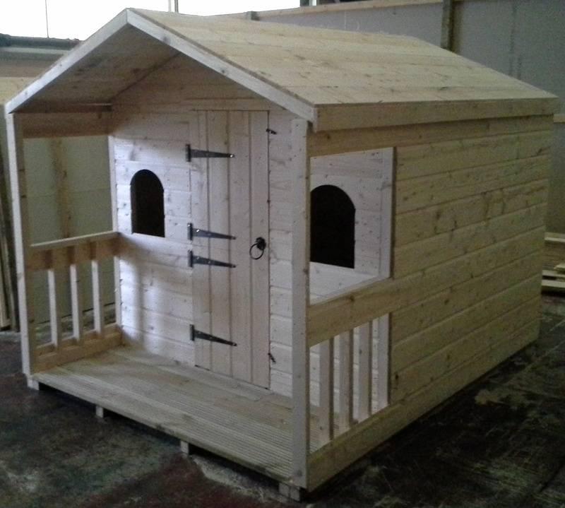 Wooden Playhouse (8' x 6')