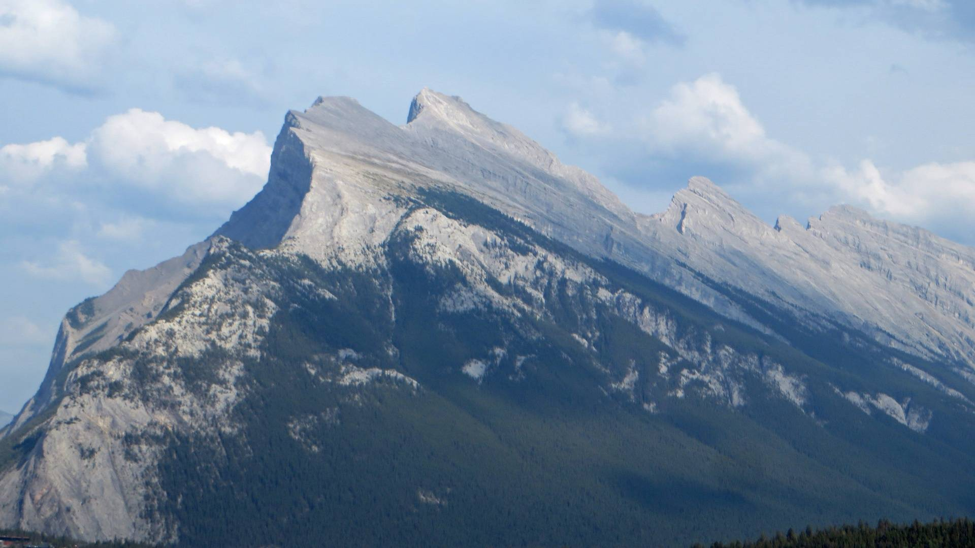 Along road from Banff to Lake Louise