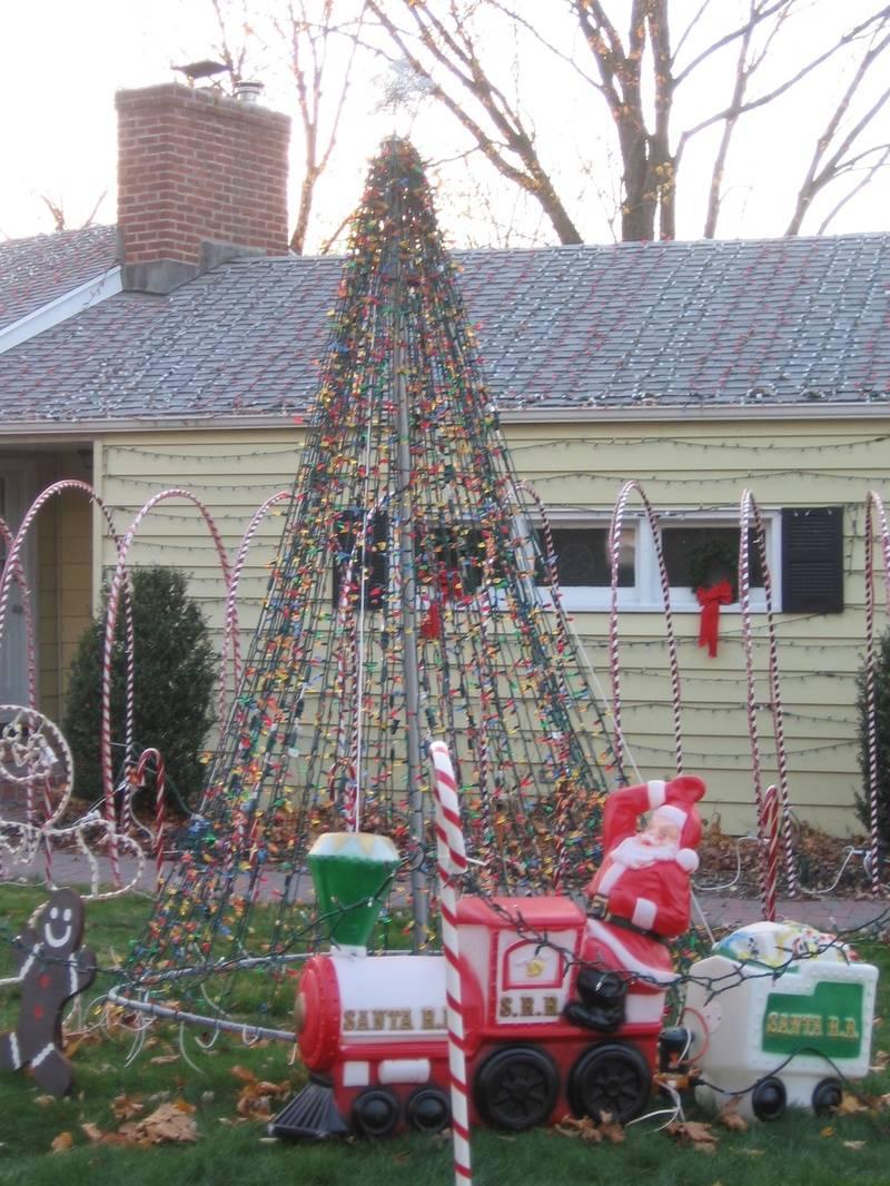 Mega Tree with Santa