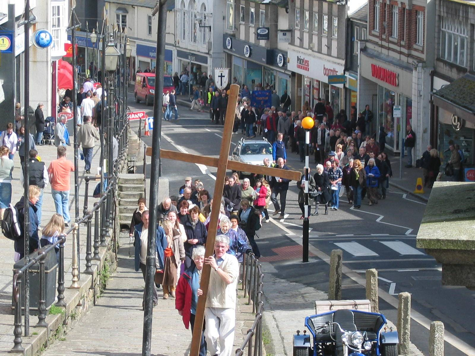 Good Friday walk of witness