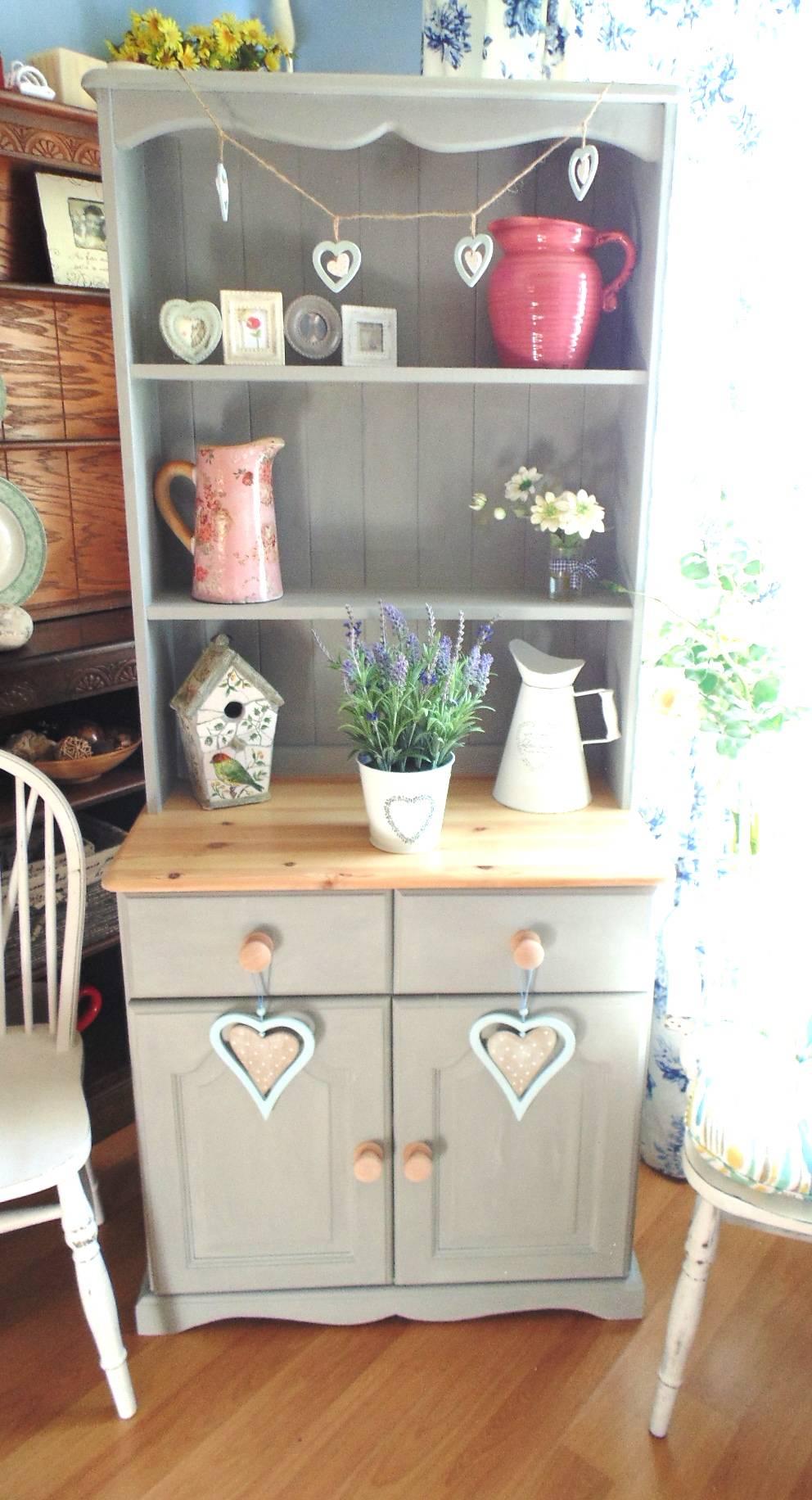 Pretty Dresser in Annie Sloan Paris Grey