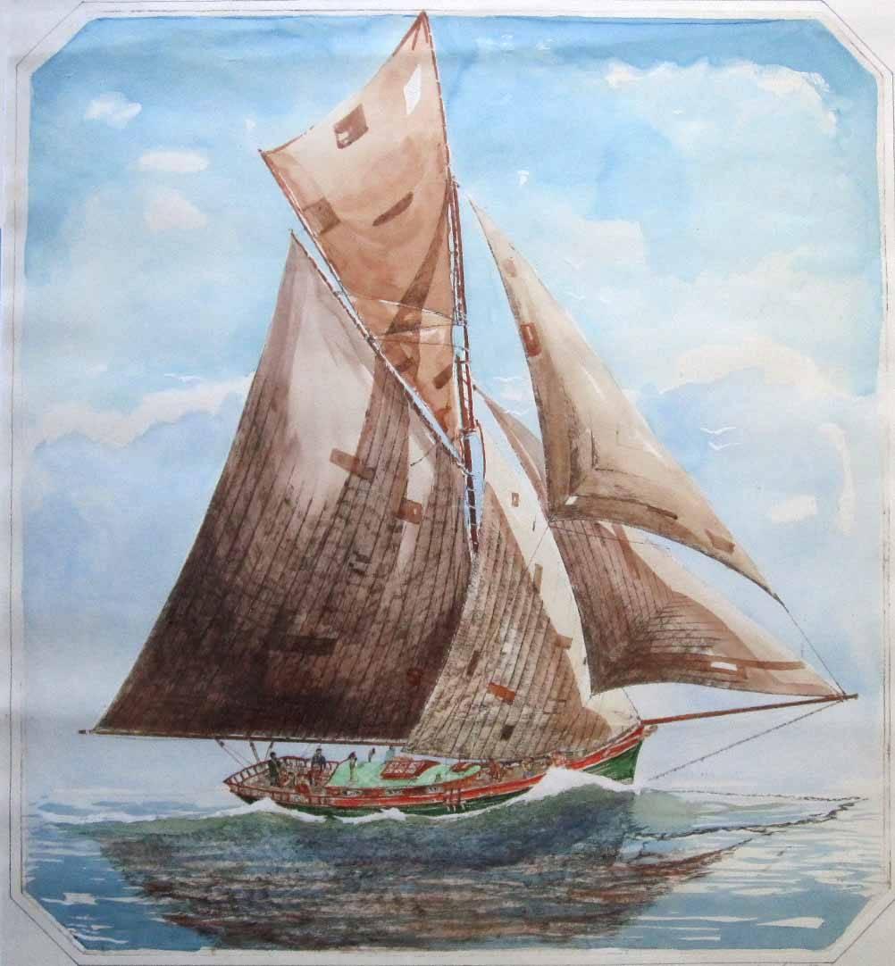 Cloud of Sails