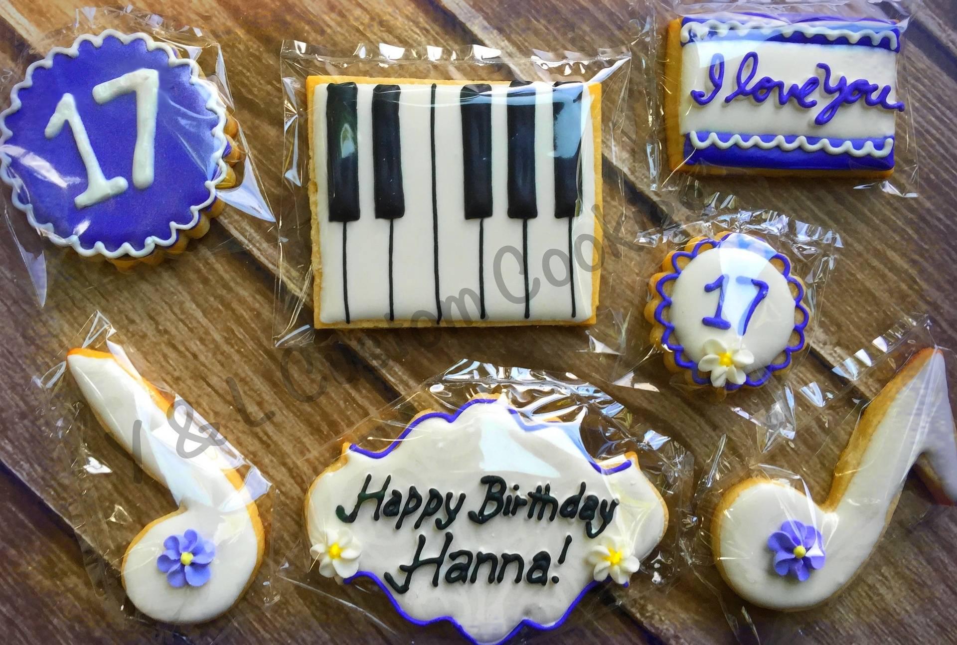Birthday Cookies Music Theme
