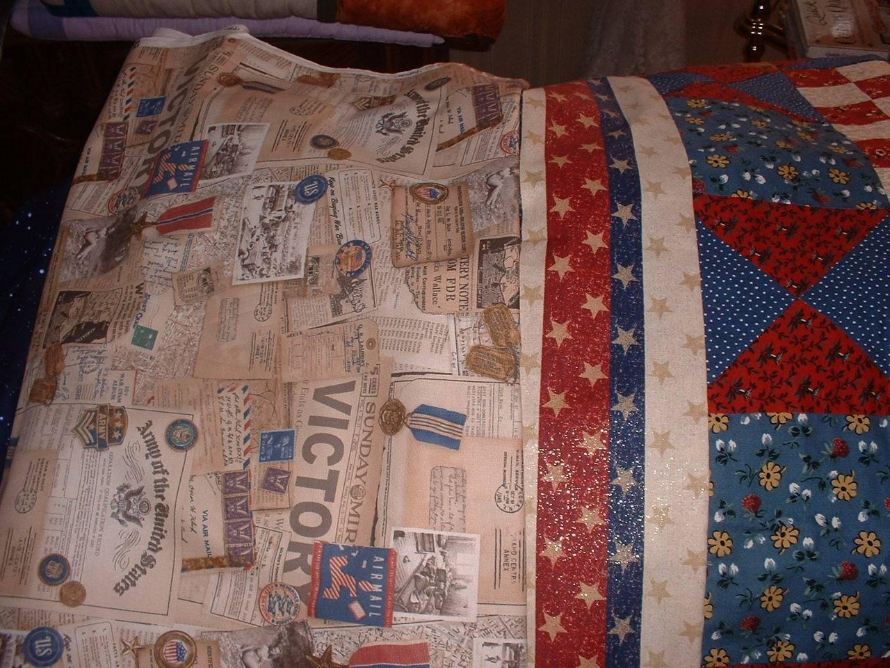 Fabric backing