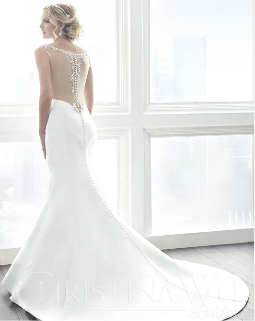 Christina Wu Brides 15629 - Back