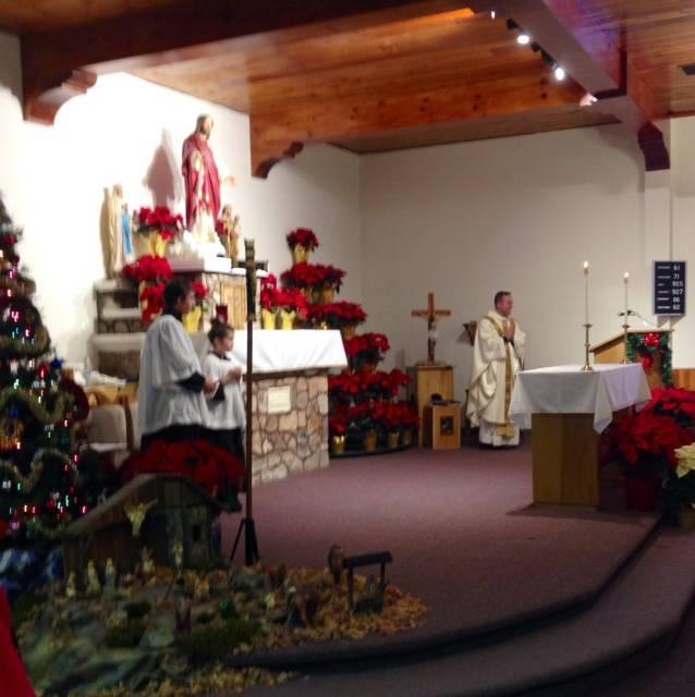 Christmas Mass 2013