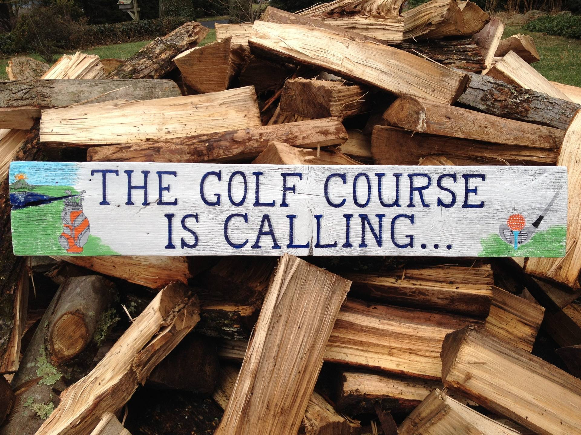 The Golf Course is Calling