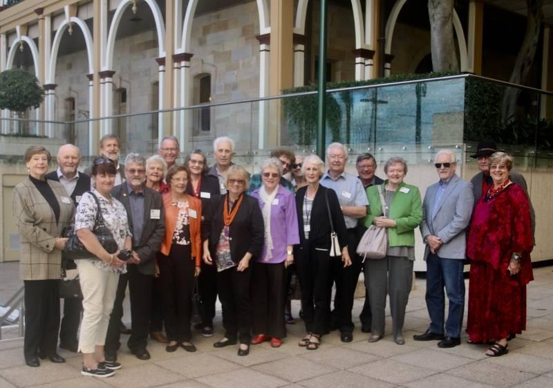 BGC members at Parliament house