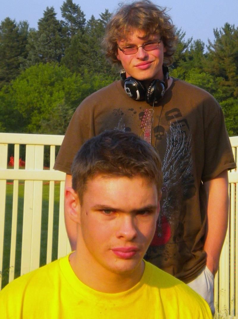 Jake and Ben in Oconomowoc