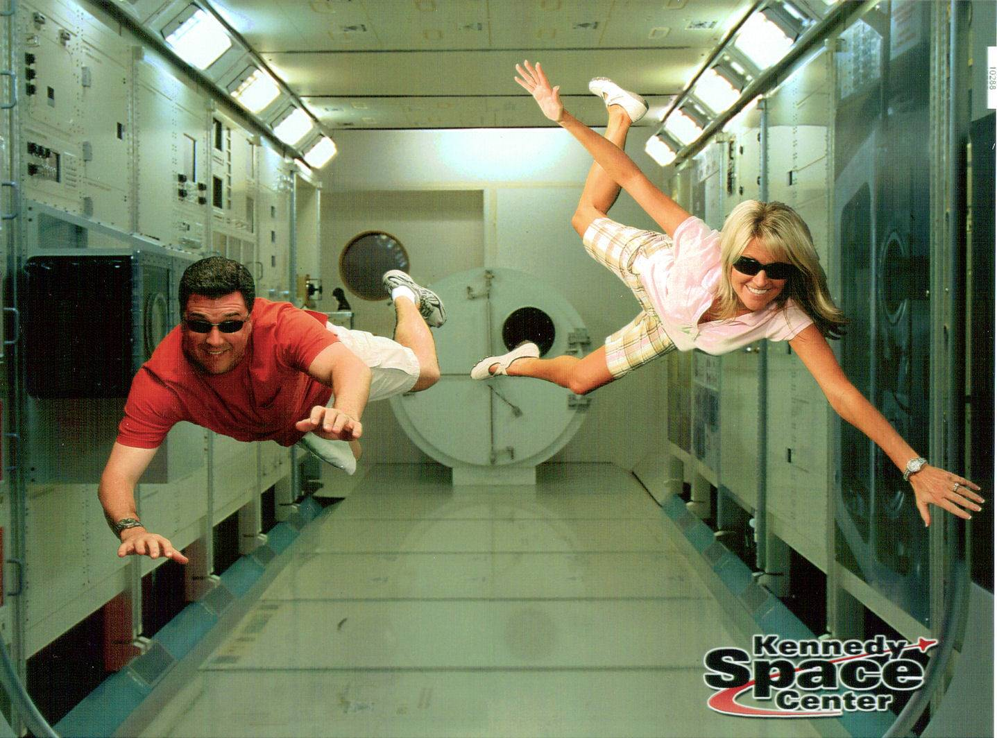 Flying at the Kennedy Space Center