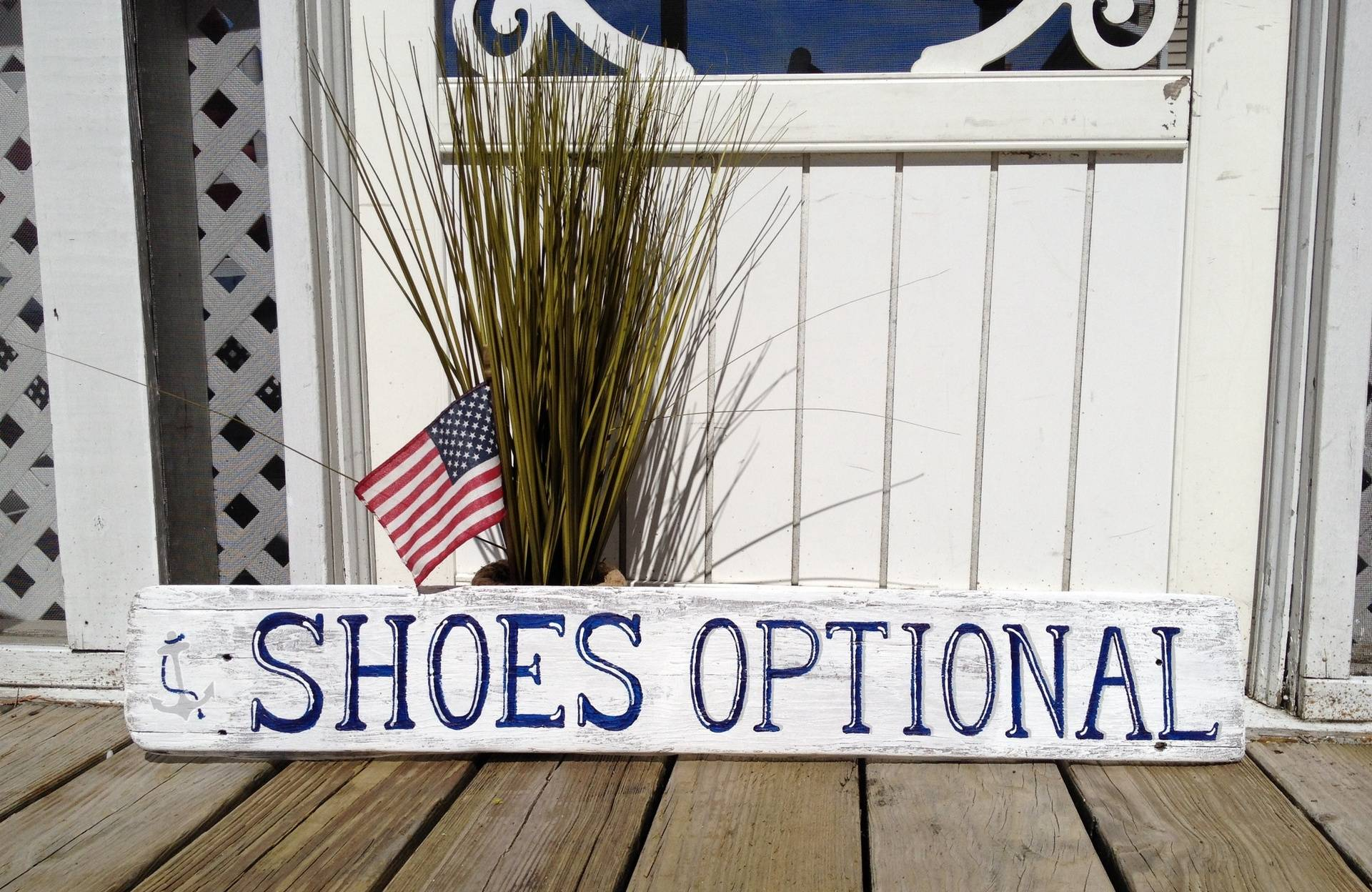 Shoes Optional sign