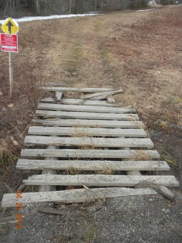 Old bridge at Rts 3 & 220