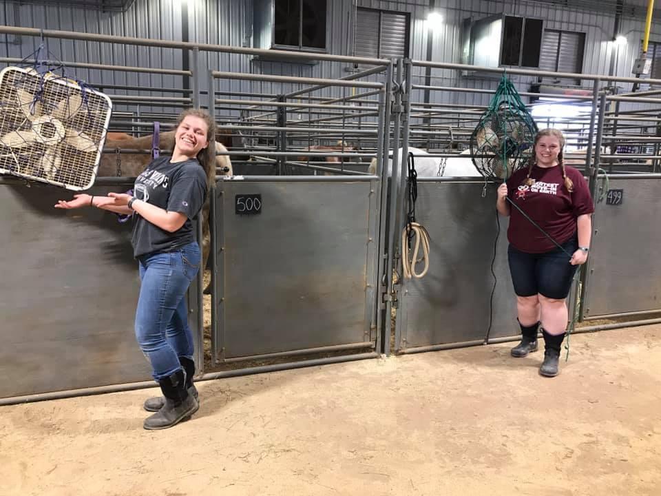 Mary and Roxy Rinaldi superior volunteers