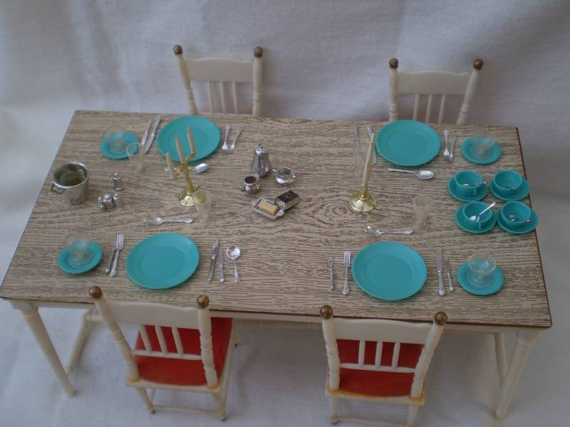 Dining Table & Four Chairs - 1972 version