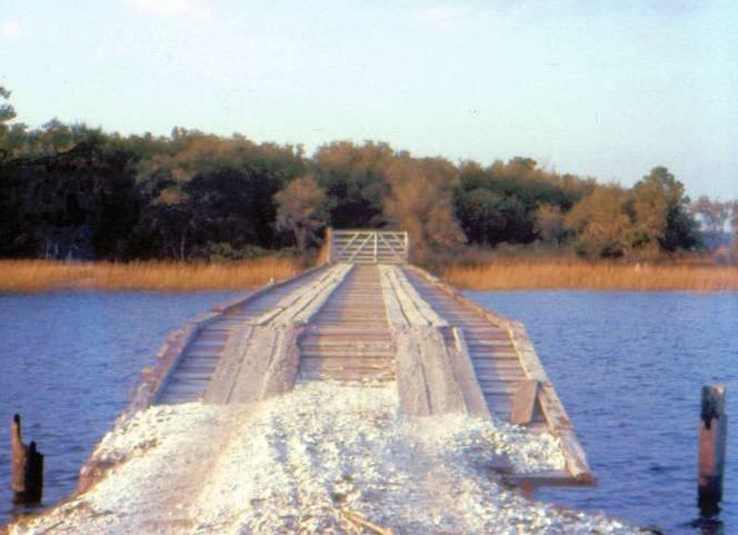 Datha Island Bridge - 1958