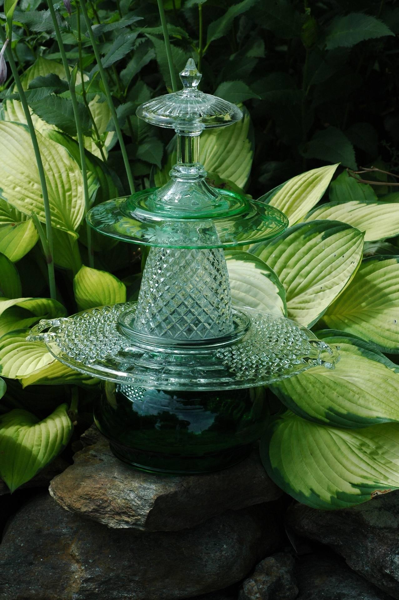 152 - Green Pagoda - SOLD