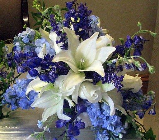 Bridal Bouquet - Romantic/Glitter Style