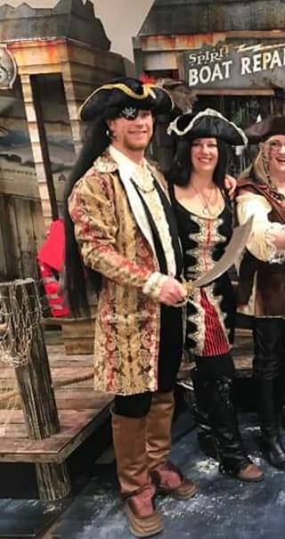 Pirate Captain and Pirate female