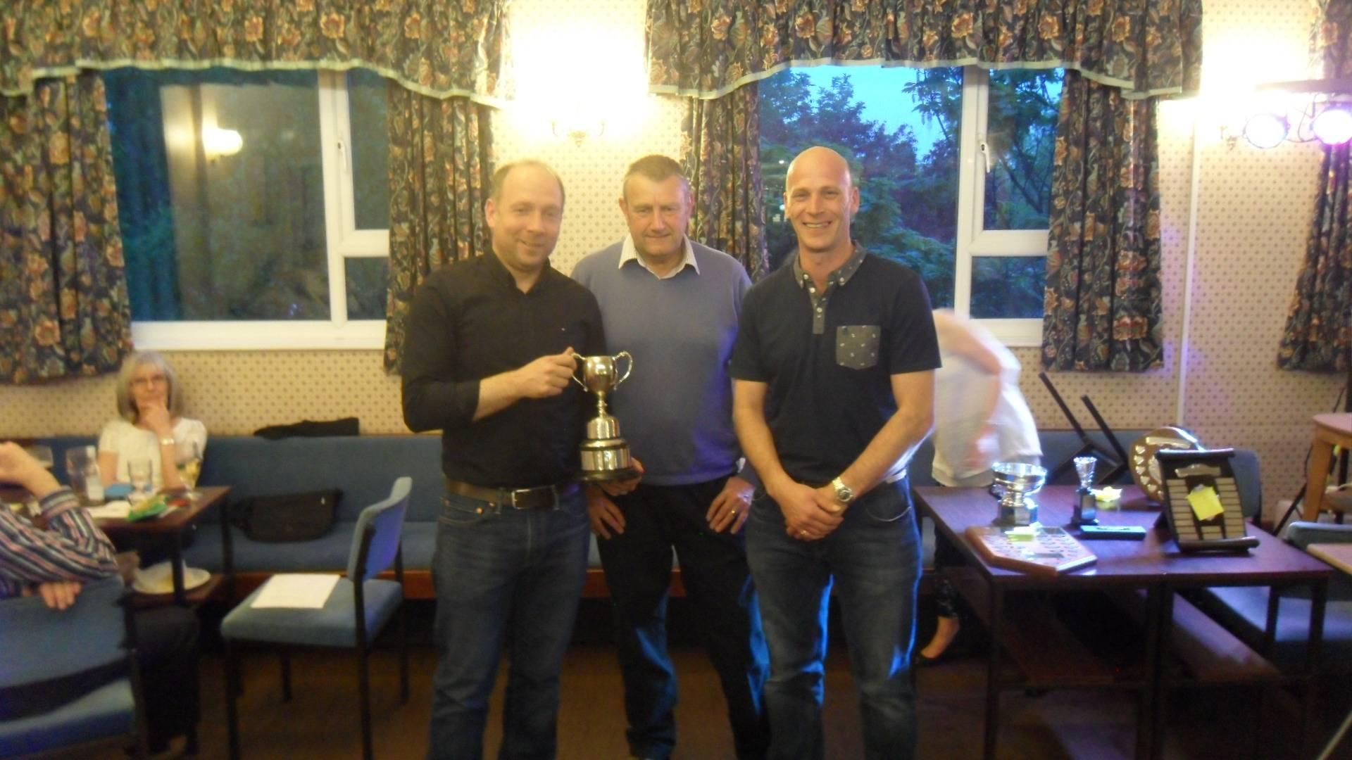 Handicapped Tournament Mens Doubles Winners
