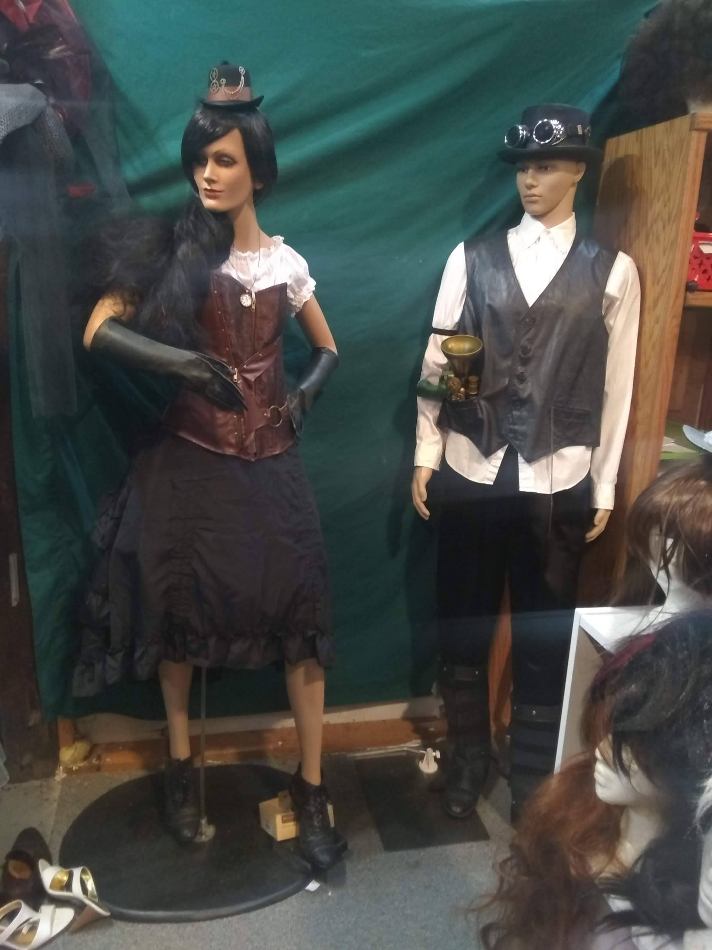 Steampunk Female & Male