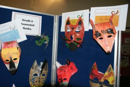 Mask Competition Winners - Cirque du Soleil eat your heart out!