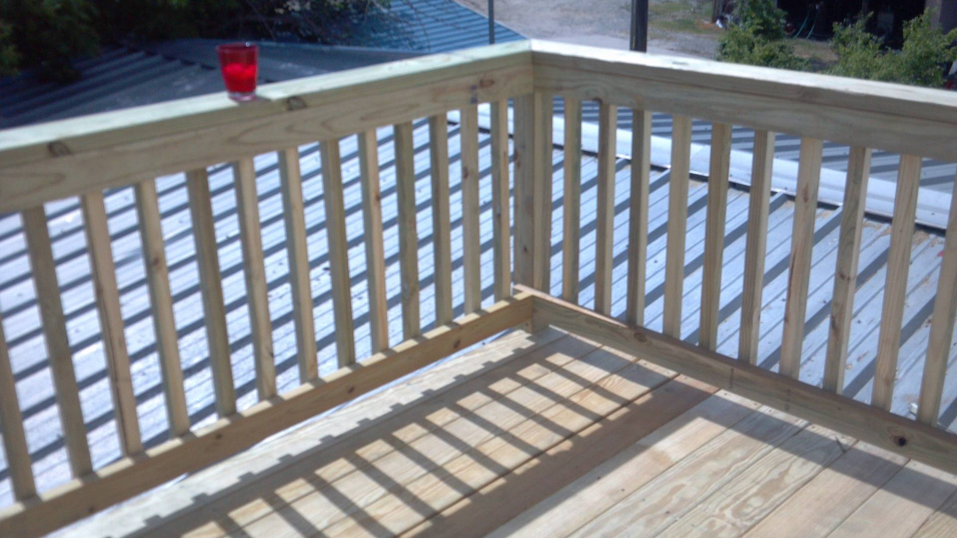 Deck on a Roof
