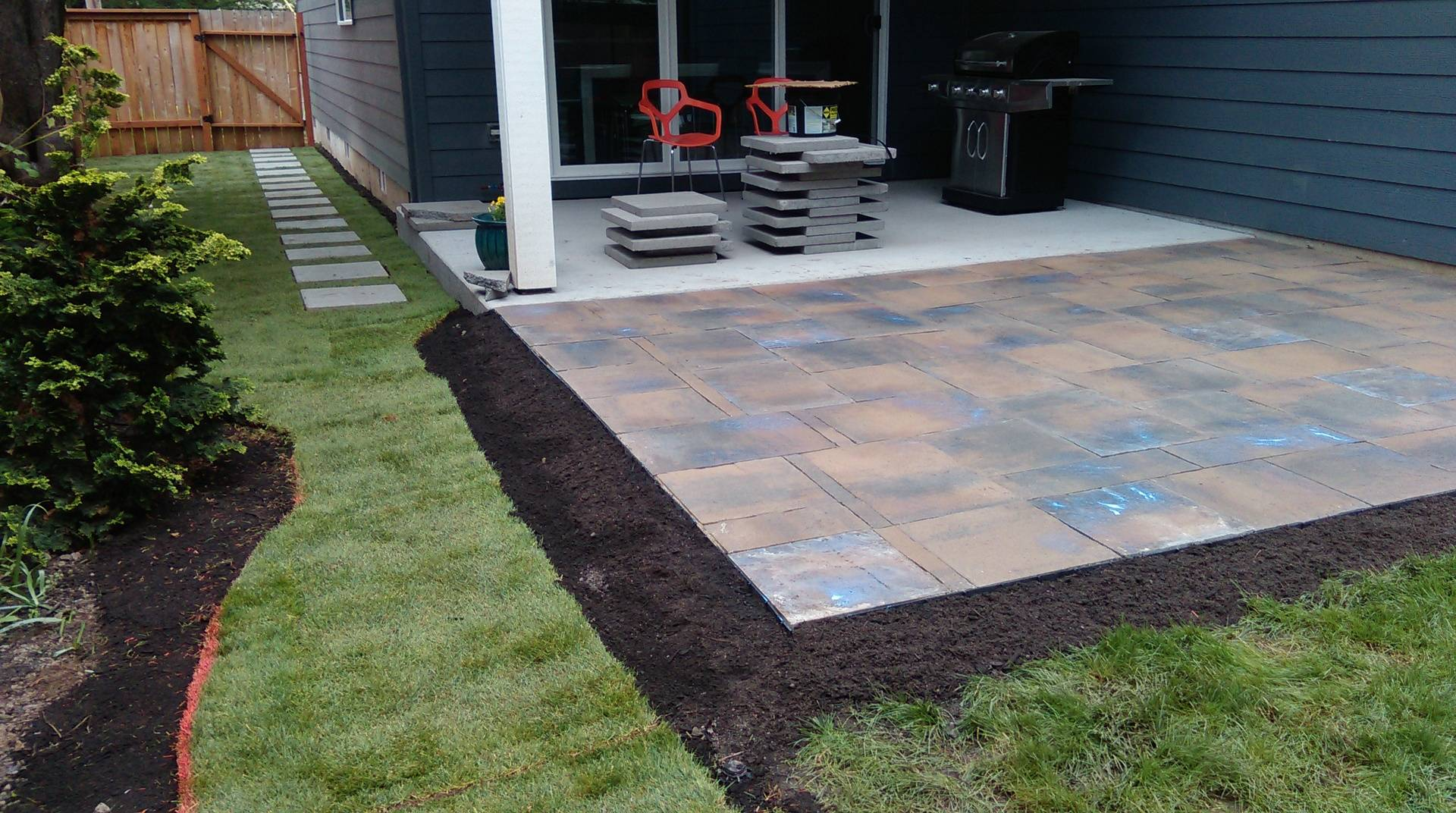 Paver, Stone, Patio, Installation, Hillsboro