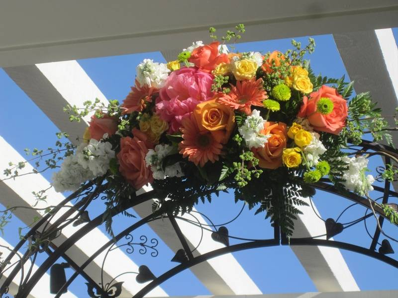 Arch & Flowers