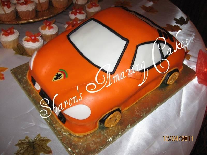 CAKE 18G -Porsche Cake 2