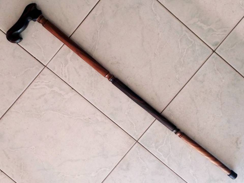 Assistive Wooden Cane