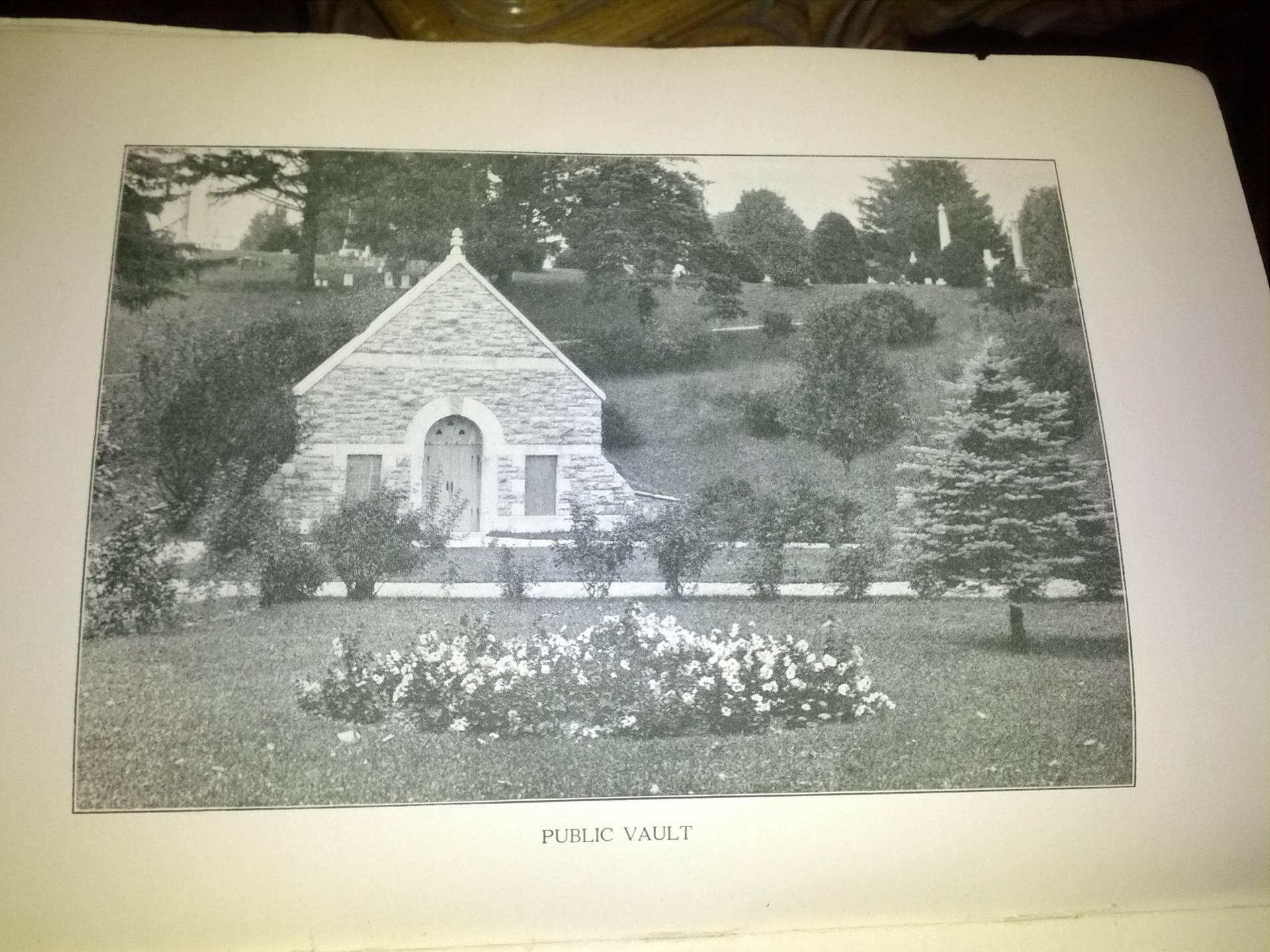 Cortland Rural Cemetery -- public vault