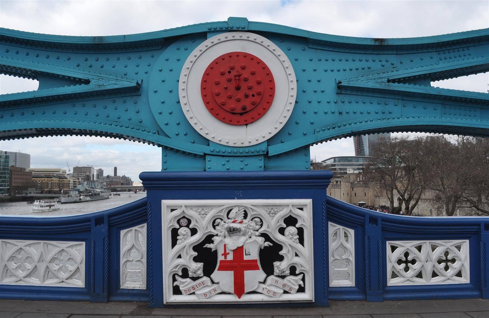 Tower Bridge Detail, London