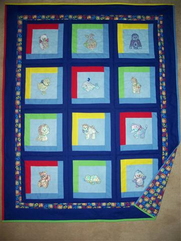 Baby Quilt from Carole in CA