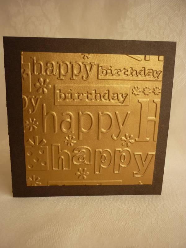 Simple Happy Birthday