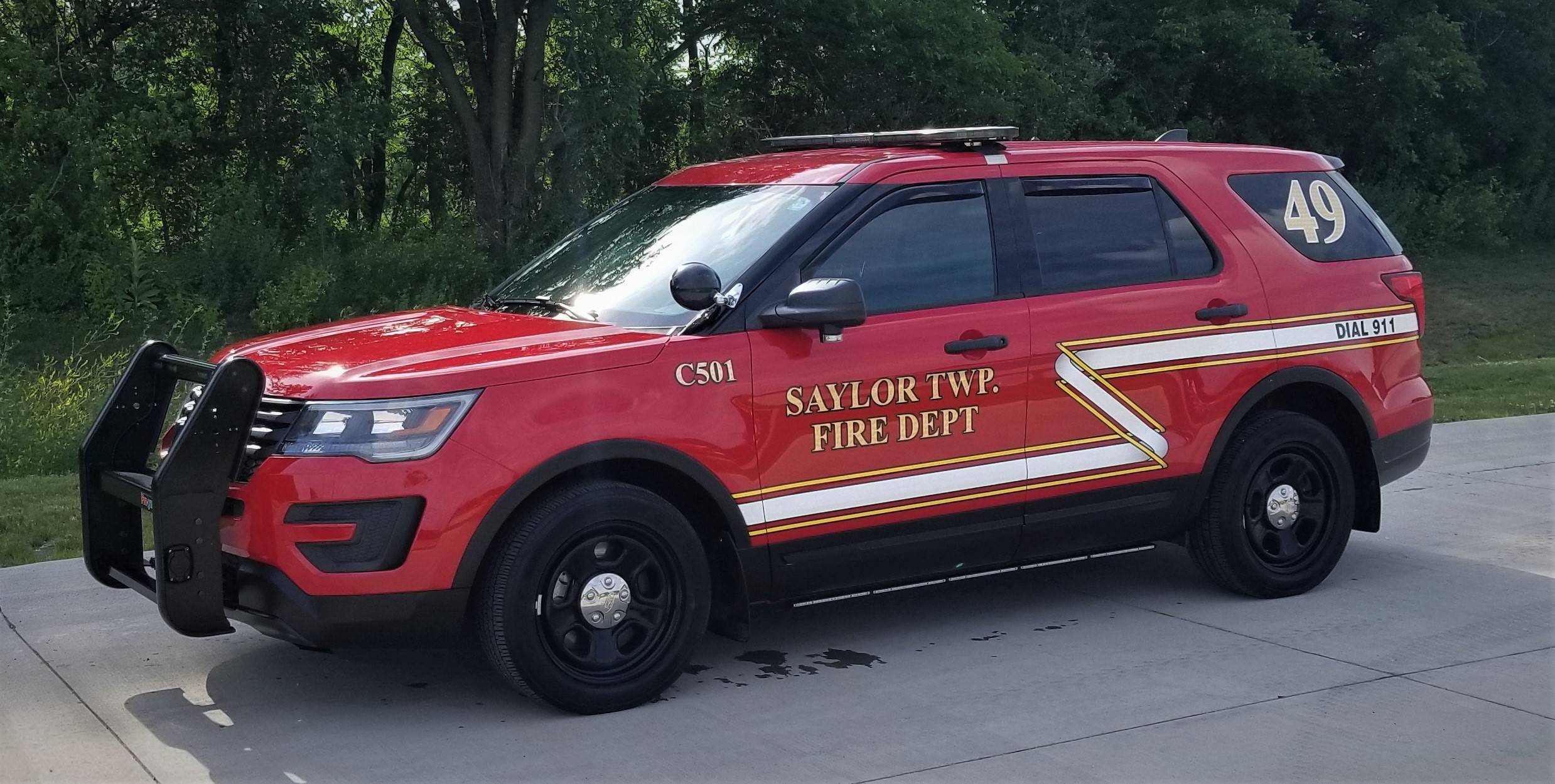 501 & 502- Assistant Chief's Vehicles