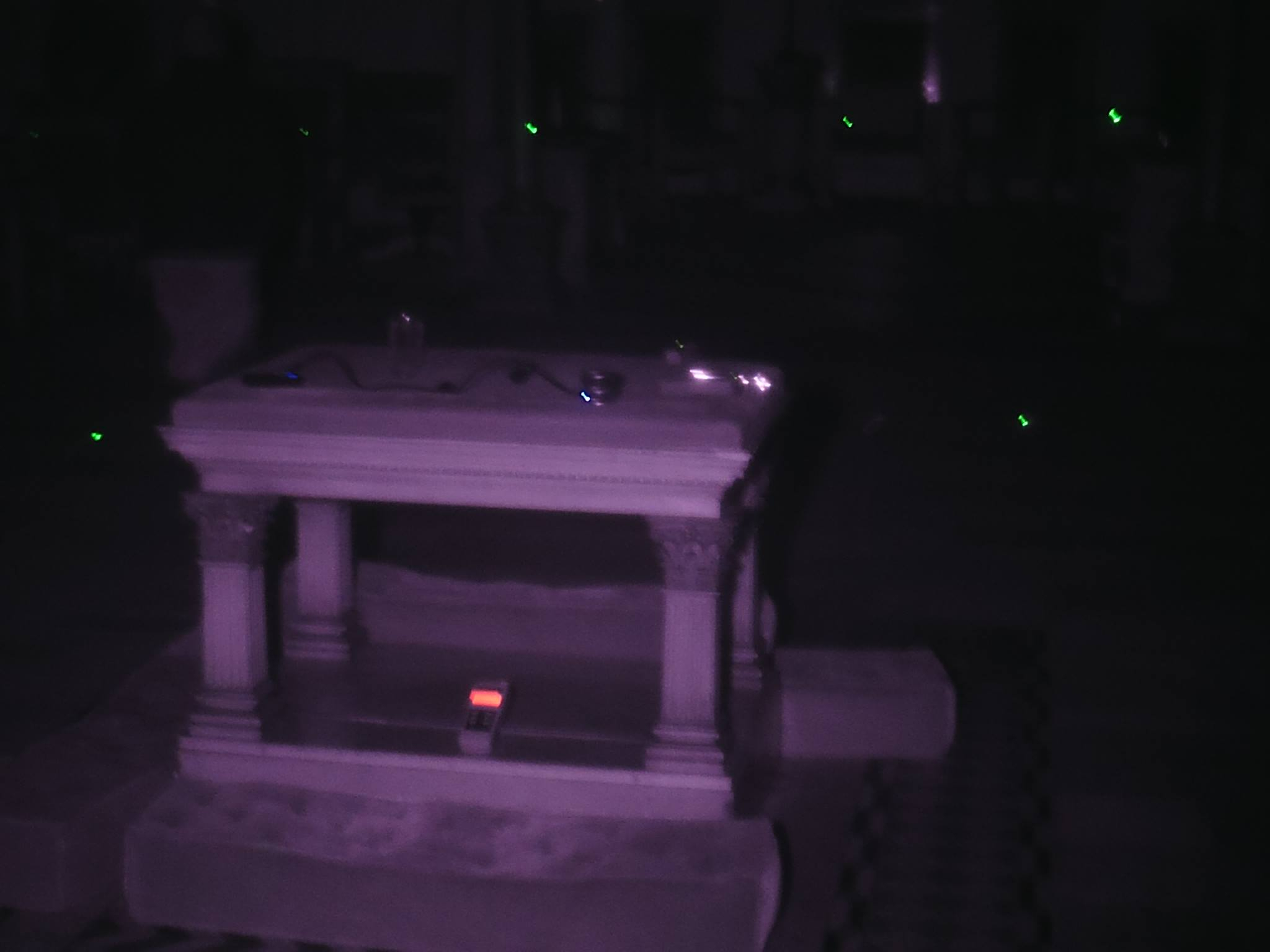 Altar in Masonic Temple - Houghton