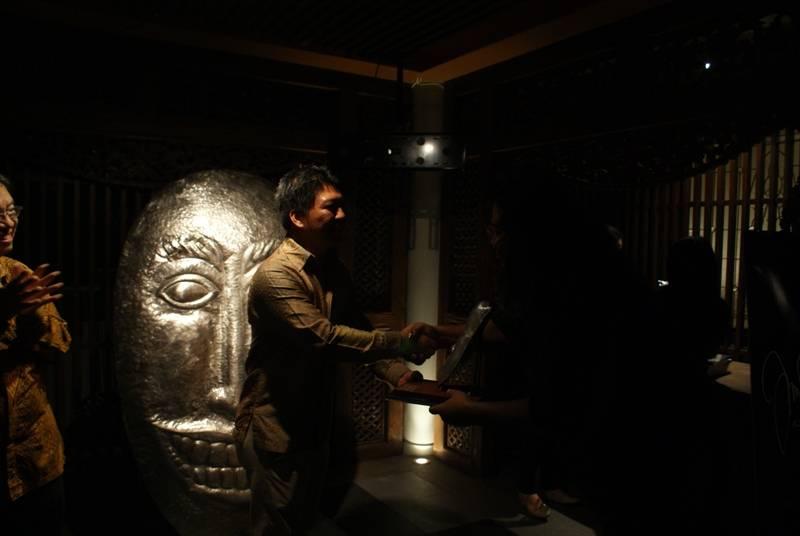 Visual Arts Solo Exhibition  Noor Ibrahim Masks In.Kon.Fe.So