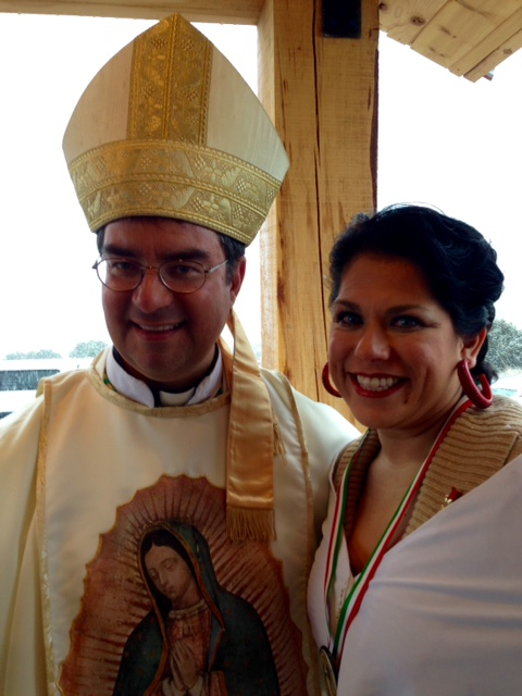 Bishop Cantu and Jennifer Gaston