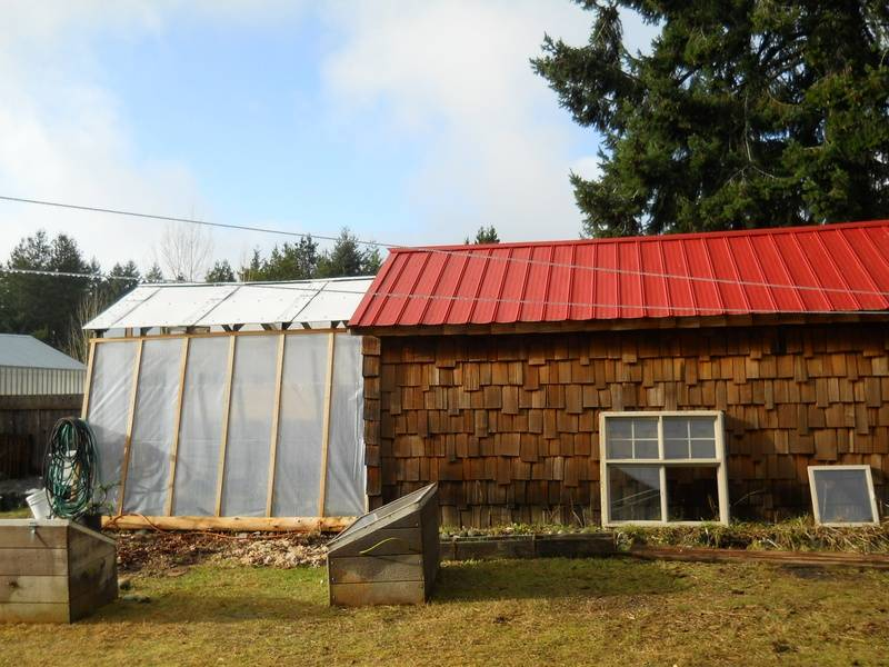 Workshop and Greenhouse