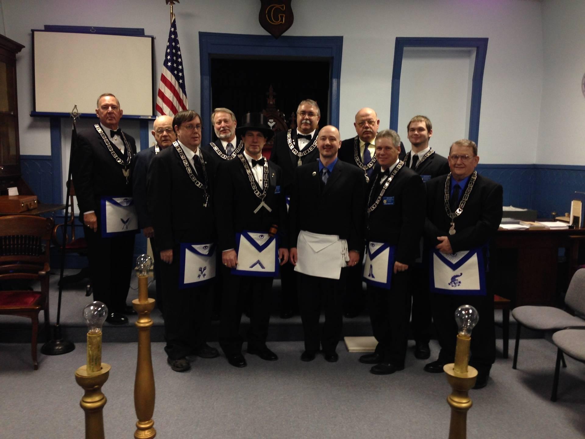 ACACIA Lodge No 155 Officers