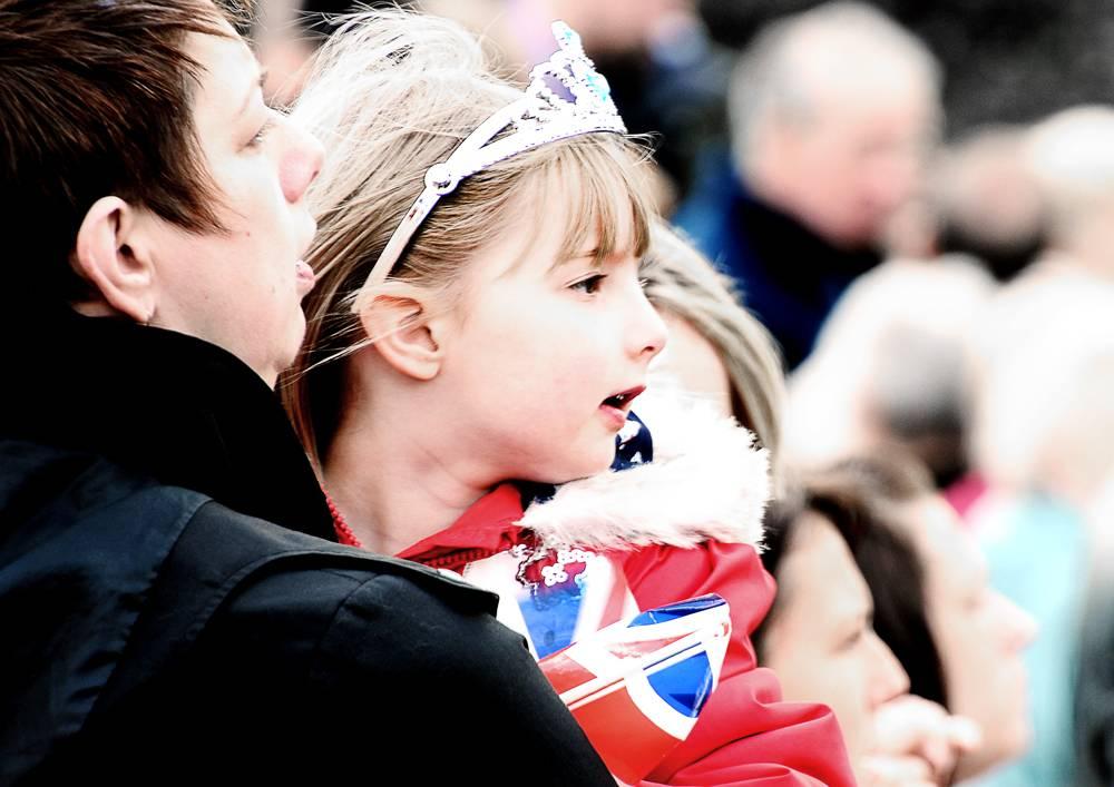 A Princess may look at a Queen