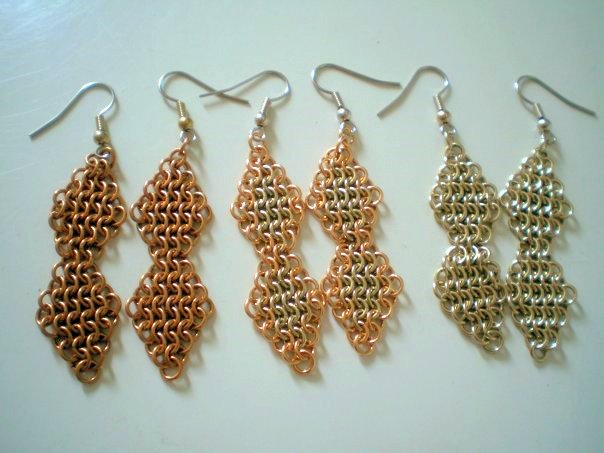 Double Diamond chainmaille