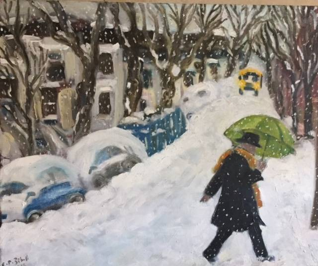 Snow in Crown Heights #1