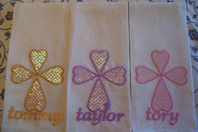 Carols Tea - towels using only Opal