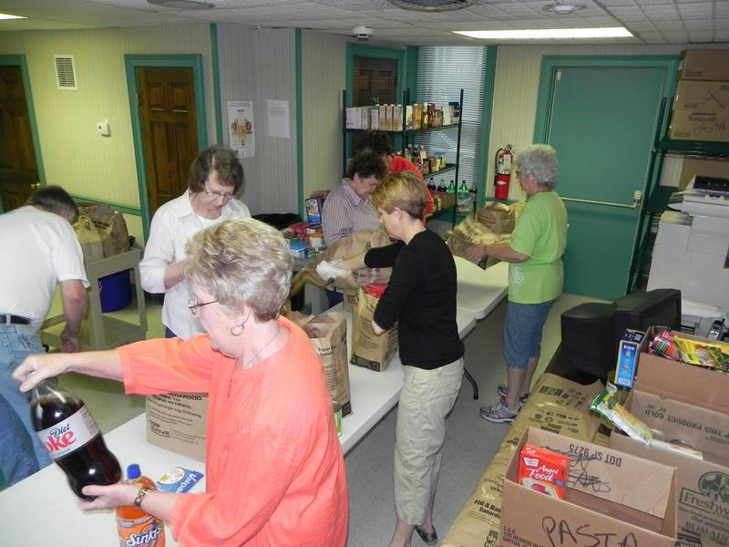 'Stamp Out Hunger' 2012 volunteers