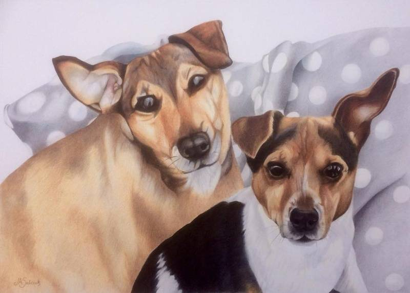 Double portrait commission