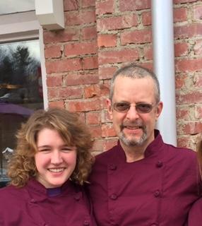 Chef Jim and Michaila
