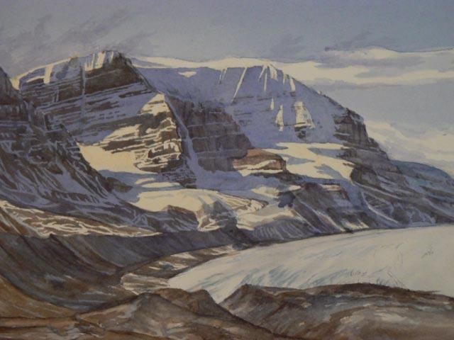 Athabasca Glacier Jasper Alberta