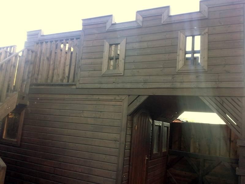 Wooden Castle   Shed